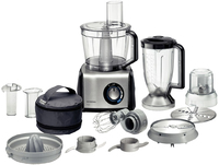 Siemens - Food Processor 1250 Watt (Black) - Cover