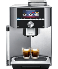 Siemens - Fully Automatic Coffee Maker Stainless Steel - Cover