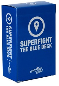 Superfight - The Blue Deck (Card Game) - Cover
