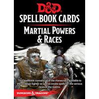 Dungeons & Dragons - Spellbook Cards - Martial Powers & Races (Role Playing Game)