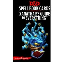 Dungeons & Dragons - Xanathar's Guide to Everything Spellbook Cards (Role Playing Game)
