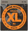 D'Addario EPN110 10-54 Pure Nickel Regular Light Electric Guitar Strings