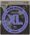 D'Addario EPN115 11-48 Pure Nickel Blues/Jazz Rock Electric Guitar Strings