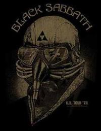 Black Sabbath - US Tour 78 (Back Patch) - Cover