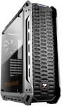 Cougar Panzer Mid-Tower Gaming Chassis - Black