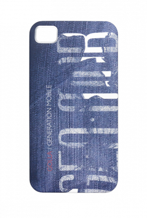 a0e5a8207a548e Golla Cody Polycarbonate Case for iPhone 4 and 4s - Blue Jeans - Cover