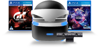Sony PlayStation VR + Camera + VR Worlds + Gran Turismo Sport (PS4)