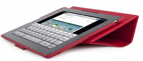 best service 11396 61ae7 Speck FitFolio Folio Case for Apple iPad 2 - Red