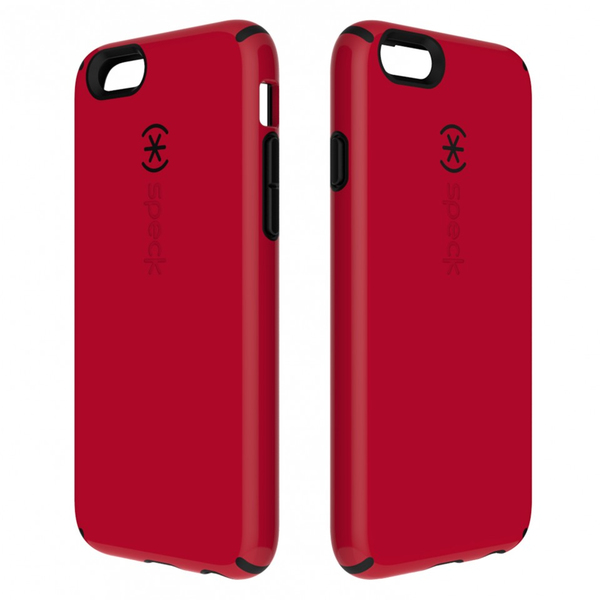 low priced dc840 5d3d0 Speck CandyShell Pomodoro Case for Apple iPhone 6 and 6s - Red and Black