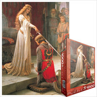 Eurographics - The Accolade / Edmund Leighton Puzzle (1000 Pieces) - Cover