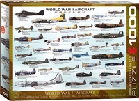 Eurographics - WWII Aircraft Puzzle (1000 Pieces) - Cover