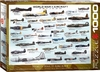 Eurographics - WWII Aircraft Puzzle (1000 Pieces)
