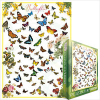 Eurographics - Butterflies Puzzle (1000 Pieces) - Cover