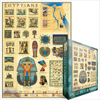 Eurographics Puzzle 1000 Pieces - Ancient Egyptians - Cover