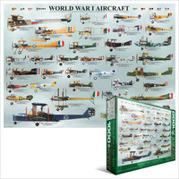 Eurographics - WWI Aircraft Puzzle (1000 Pieces) - Cover
