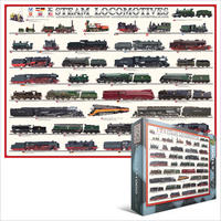 Eurographics - Steam Locomotives Puzzle (1000 Pieces)