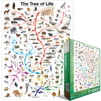 Eurographics Puzzle 1000 Pieces - The Tree of Life