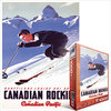 Eurographics - Lake Louise Ski Areas /  Ewart Puzzle (1000 Pieces) Cover