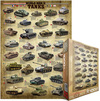 Eurographics - World War II Tanks Puzzle (1000 Pieces)