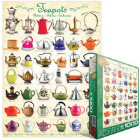 Eurographics Puzzle 1000 Pieces - Teapots