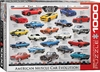 Eurographics Puzzle 1000 Pieces - Muscle Car Evolution