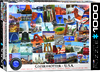 Eurographics Puzzle 1000 Pieces - USA Globetrotter Cover