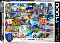 Eurographics Puzzle 1000 Pieces - World Globetrotter - Cover