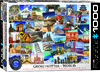 Eurographics Puzzle 1000 Pieces - World Globetrotter Cover