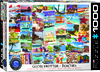 Eurographics Puzzle 1000 Pieces - Beaches Globetrotter Cover