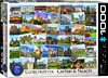 Eurographics Puzzle 1000 Pieces - Castles & Palaces Globetrotter Cover