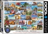 Eurographics Puzzle 1000 Pieces - Globetrotter Mexico Cover