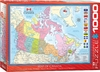 Eurographics - Map of Canada Puzzle (1000 Pieces) Cover