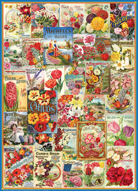 Eurographics - Flowers Seed Catalogue Puzzle (1000 Pieces) - Cover