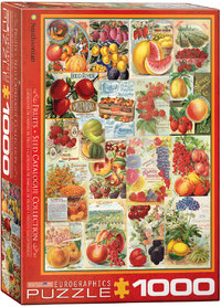 Eurographics - Fruits Seed Catalogue Puzzle (1000 Pieces) - Cover