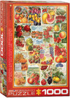 Eurographics - Fruits Seed Catalogue Puzzle (1000 Pieces)