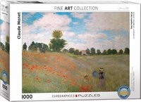 Eurographics Puzzle 1000 Pieces - Claude Monet - The Poppy Field - Cover