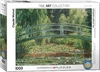 Eurographics Puzzle 1000 Pieces - Monet - Japanese Footbridge Cover