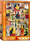 Eurographics - Opera /Theater Vintage Collage Puzzle (1000 Pieces)