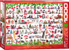 Eurographics - Christmas Kittens Puzzle (1000 Pieces)