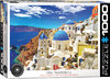 Eurographics - Oia Santorini Greece Puzzle (1000 Pieces)