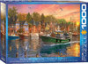 Eurographics - Harbor Sunset Puzzle (1000 Pieces)