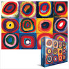 Eurographics Puzzle 1000 Pieces - Study of Squares / Kandinsky