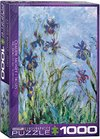 Eurographics - Irises / Claude Monet Puzzle (1000 Pieces) Cover