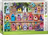 Eurographics - Home Tweet Home (Birdhouses) Puzzle (1000 Pieces) - Cover