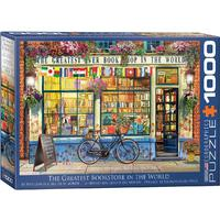 Eurographics - The Greatest Bookstore in the World Puzzle (1000 Pieces)