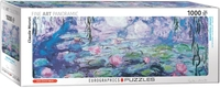 Eurographics - Waterlilies / Claude Monet Puzzle (1000 Pieces) - Cover