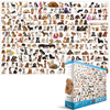 Eurographics - The World of Dogs Puzzle (2000 Pieces)