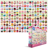 Eurographics - Cupcakes Galore Puzzle (2000 Pieces) - Cover