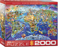 Eurographics - Crazy World Puzzle (2000 Pieces) - Cover