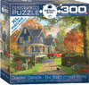Eurographics - The Blue Country House Puzzle (300 Pieces)